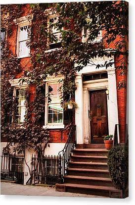 Greenwich Village Charm Canvas Print by Jessica Jenney