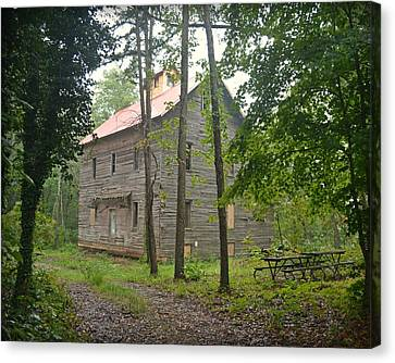 Canvas Print - Greer Spring Mill 1 by Marty Koch