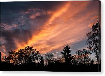 Morn Canvas Print - Greet The Morn by Maggie Terlecki