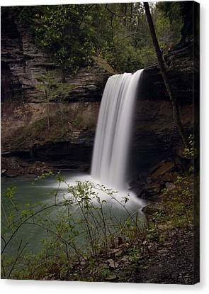Greeter Falls Canvas Print
