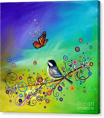 Greetings Canvas Print by Cindy Thornton