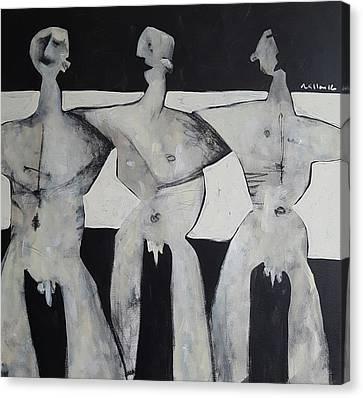 Grego No. 6  Canvas Print by Mark M Mellon