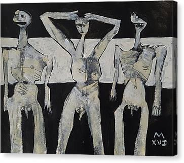 Grego No 7 Canvas Print by Mark M Mellon