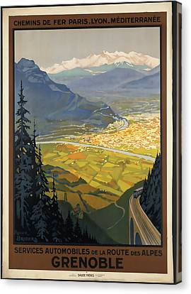 Grenoble Canvas Print