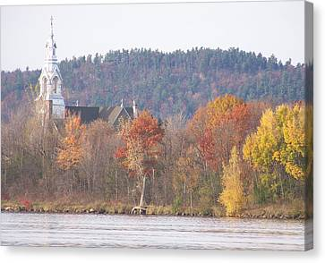 Canvas Print featuring the photograph Grenville Quebec - Photograph by Jackie Mueller-Jones