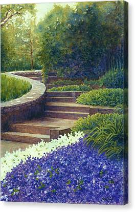 Gretchen's View At Cheekwood Canvas Print by Janet King
