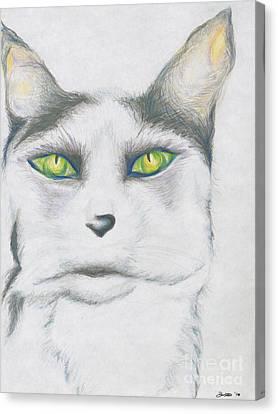 Gretta Canvas Print by Kim Sy Ok