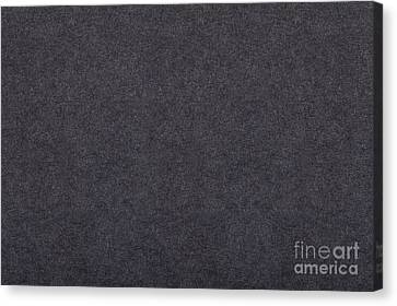 Grey Flat Cardboard Texture Canvas Print by Arletta Cwalina