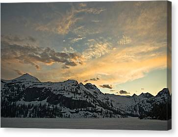 Grey Wolf Lake Canvas Print