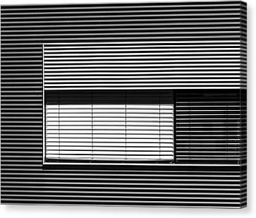 Greytone Horizontals Canvas Print by Stefan Krebs
