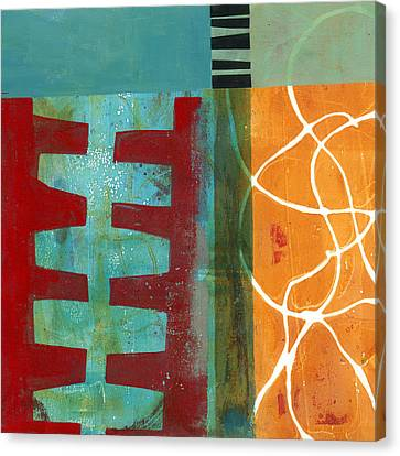 Grid Print 12 Canvas Print by Jane Davies