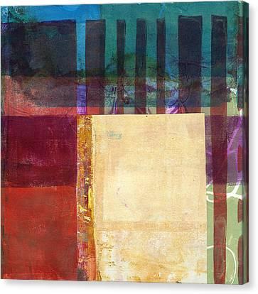 Grid Print 14 Canvas Print by Jane Davies