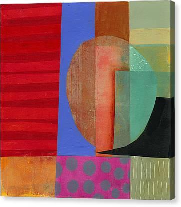 Grid Print 15 Canvas Print by Jane Davies