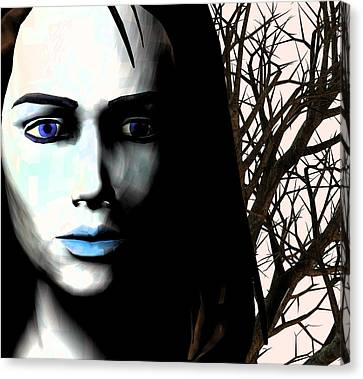 Grief And Depression, Conceptual Image Canvas Print by Stephen Wood