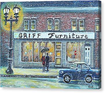 Griff Furniture Canvas Print