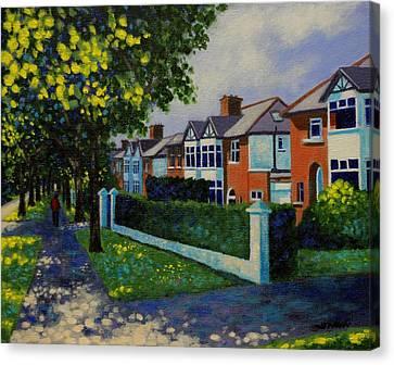 Griffith Avenue Dublin  Canvas Print by John  Nolan
