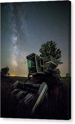 The Gleaners Canvas Print - Grim Gleaner  by Aaron J Groen