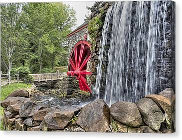 Grist For The Mill Canvas Print by John Hoey