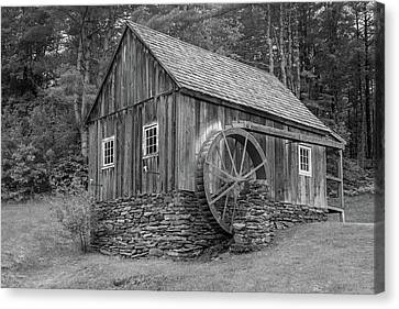 Canvas Print featuring the photograph Grist Mill by Guy Whiteley