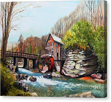Grist Mill Canvas Print by Jackie Bryant