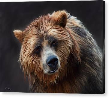 Grizzly Bear Canvas Print