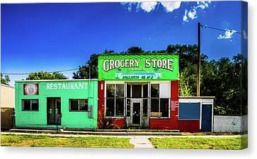 Grocery Store - Goshen Utah Canvas Print