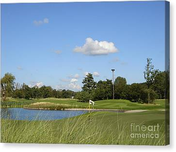 Groendael Golf The Netherlands Canvas Print