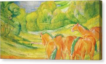 Grosse Landschaft Canvas Print by MotionAge Designs
