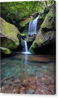 Grotto Falls-the Lower Cascades Canvas Print