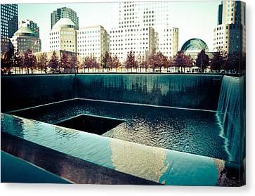 Ground Zero Memorial Canvas Print