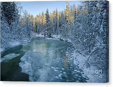 Grouse Creek Canvas Print