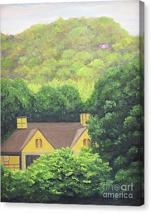 Grove Park Golf Canvas Print by Anne Marie Brown