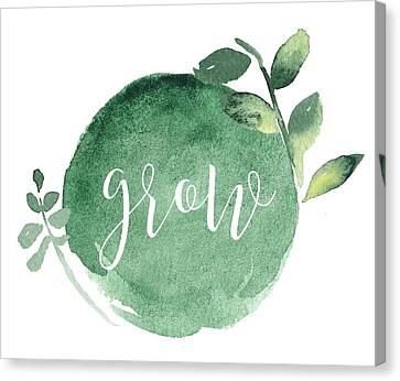 Grow Canvas Print by Nancy Ingersoll