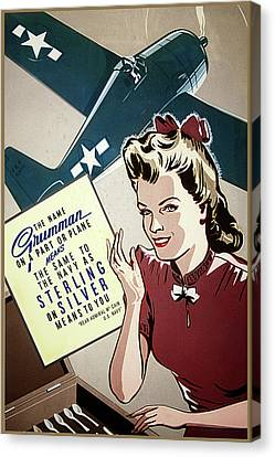 Grumman Sterling Poster Canvas Print