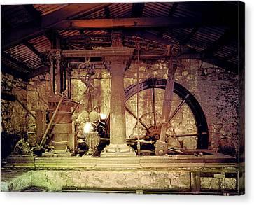 Grunge Cane Mill Canvas Print