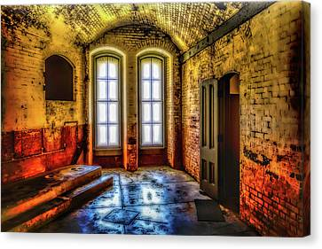 Grunge Room Canvas Print by Garry Gay