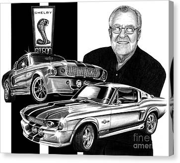 Gt 500c Canvas Print by Peter Piatt
