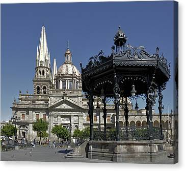 Canvas Print featuring the photograph Guadalajara by Jim Walls PhotoArtist