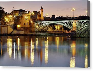 Guadalquivir Canvas Print by Gustavo's photos