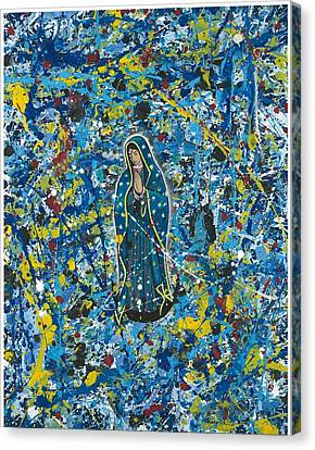 Guadalupe Visits Pollack Canvas Print