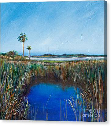 Guana River Lll Canvas Print by Michele Hollister - for Nancy Asbell