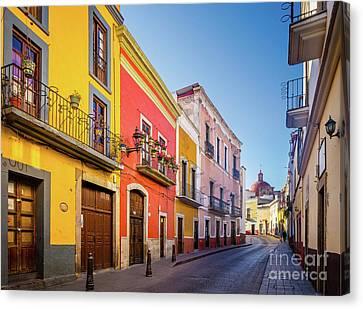 Guanajuato Casas Canvas Print