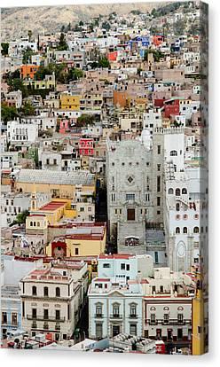 Mexico Canvas Print - Guanajuato, Mexico. by Rob Huntley