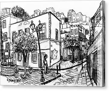 Guanajuato Street Canvas Print by Rich Travis