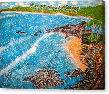 Guanica  P R      Canvas Print by Felix Zapata