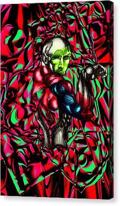 Canvas Print - Guard by Dan Sheldon