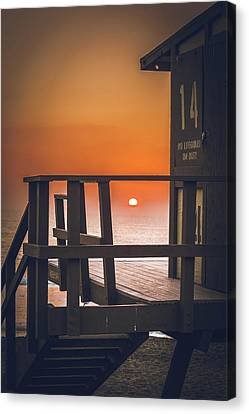Guarded Sunset  Canvas Print by Colby Hart