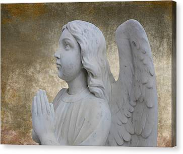 Guardian Angel Canvas Print by Barbara Teller