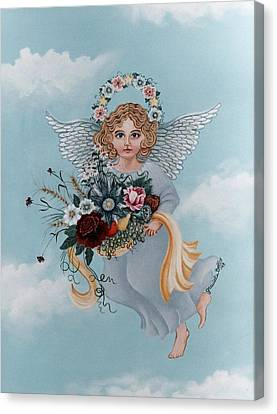 Guardian Angel Canvas Print by Graciela Bello