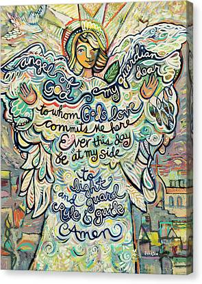 Guardian Angel Canvas Print by Jen Norton